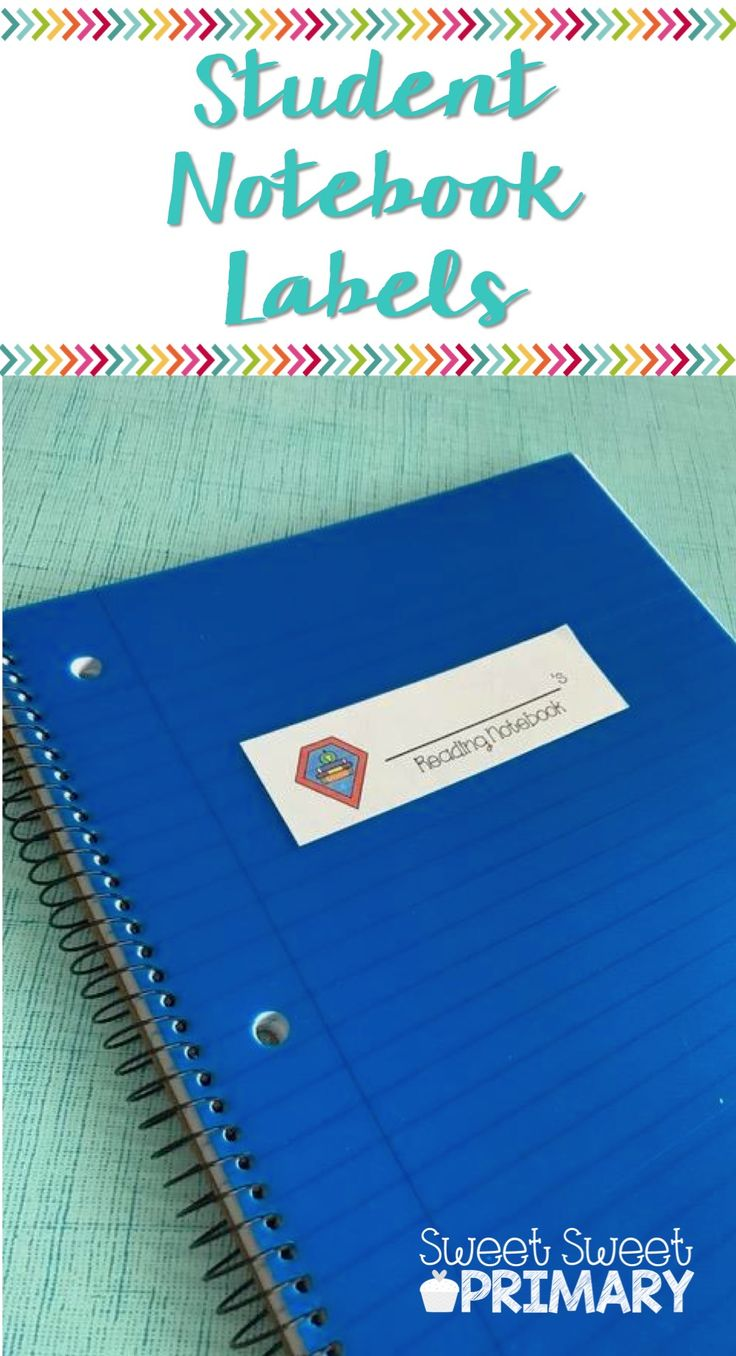 These notebook labels and folder labels are perfect for keeping all your students' supplies in order. Included are labels for reading, math, science, spelling, homework, and take home notebooks and folders. Great for kindergarten, first, second, third, and fourth grades.