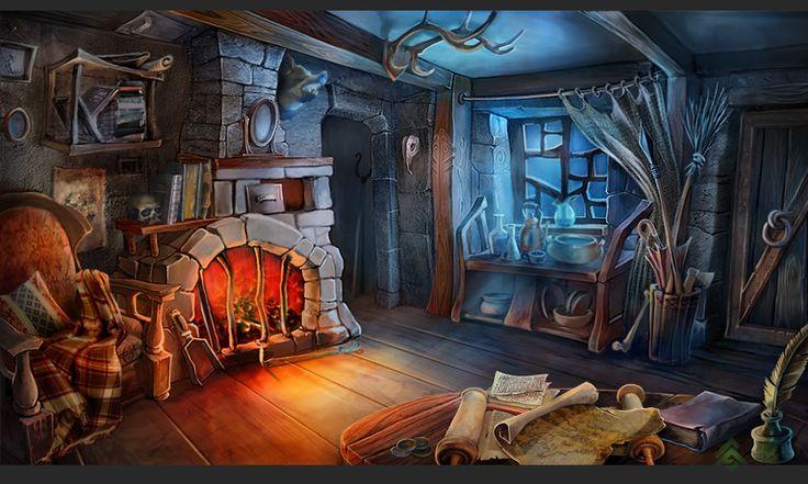 Дом волшебников картинки