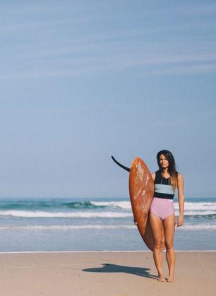 Neon wetsuits. #summer