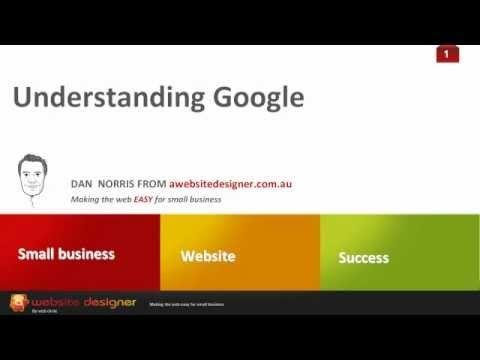 Understanding Google (and SEO), via YouTube.