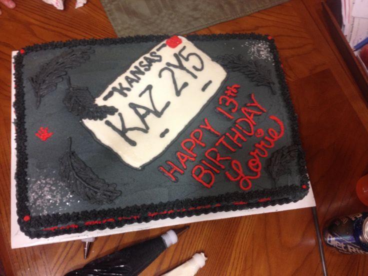 Supernatural Birthday Cake