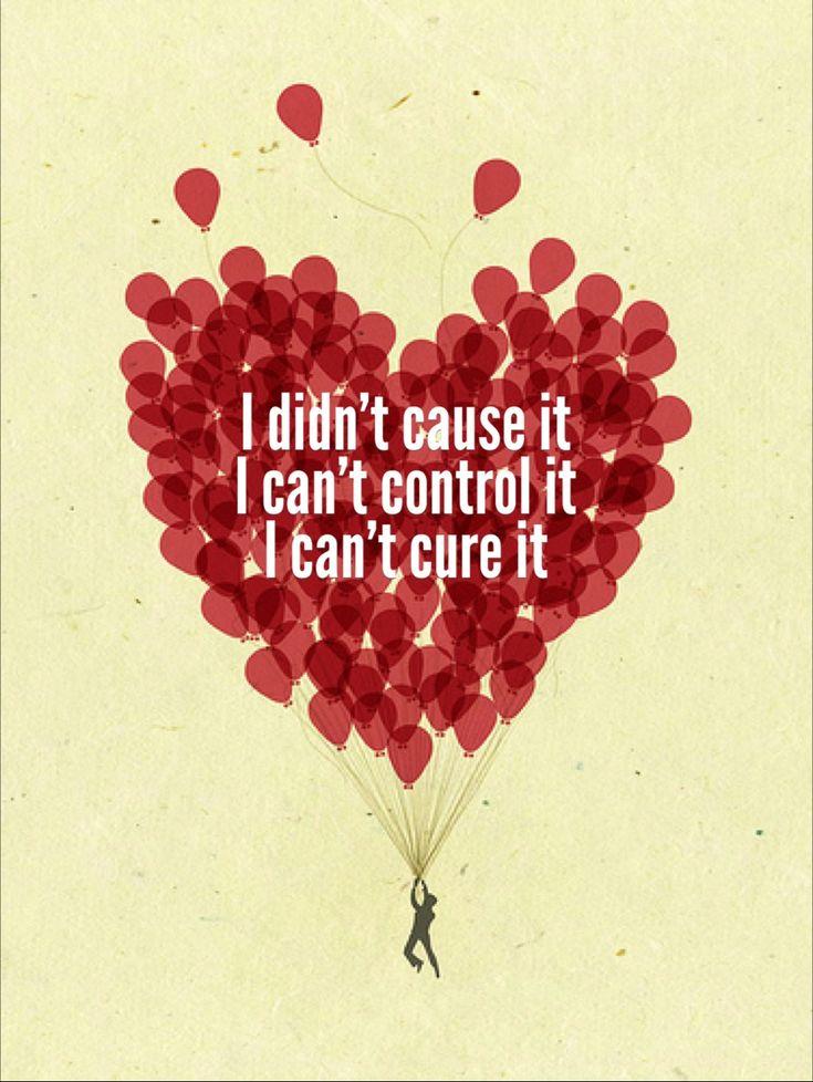 The 3 C's of AlAnon:  I didn't cause it.  I can't control it.  I can't cure it www.BarbaraCoferStoefen.com