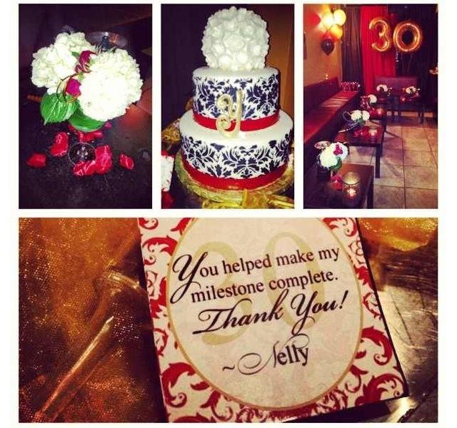 Elegant 30th Birthday party!! 30th party, 30th birthday