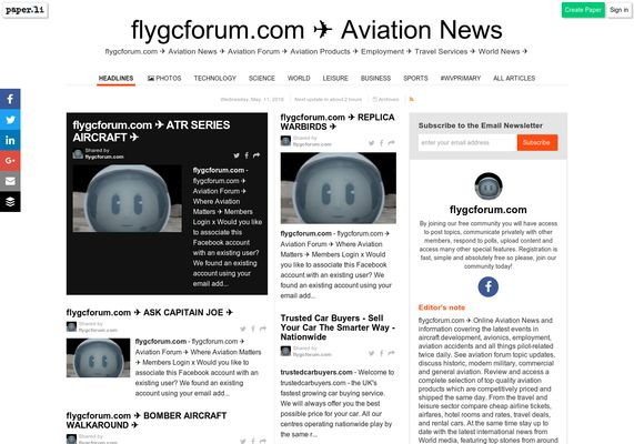 flygcforum.com ✈ AVIATION NEWS ✈ Breaking news headlines and articles ✈