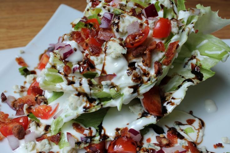 Outback Steakhouse copycat wedge salad