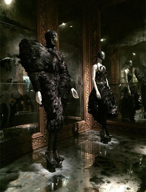 Alexander McQueen: Savage Beauty at London's V&A museum. Romantic Gothic