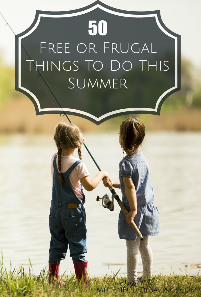 Looking for ideas that are cheap or free to do with the kids? Check out and read: 50 Free Or Frugal Things To Do This Summer