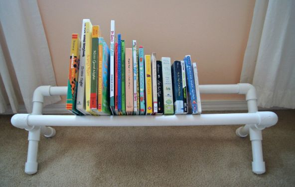 Put your books on display with a book rack using PVC pipe. This fun DIY requires only a few tools. We'll tell you just how much this project will cost you.