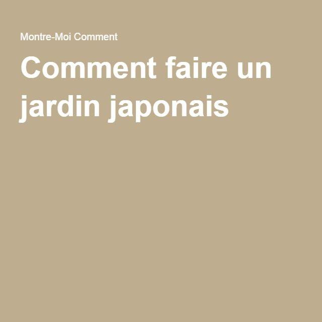 17 Best images about JARDIN JAPONNAIS on Pinterest  Miniature, Coins ...