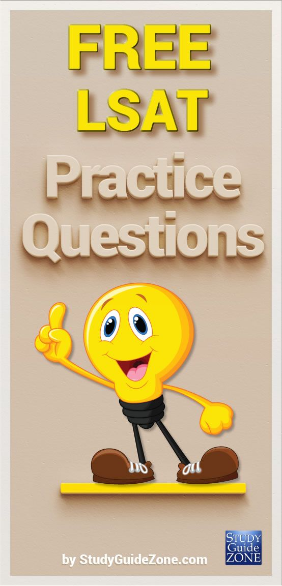 Get free LSAT practice questions and study tips to help you prep for the LSAT test. #lsattest #lsatprep
