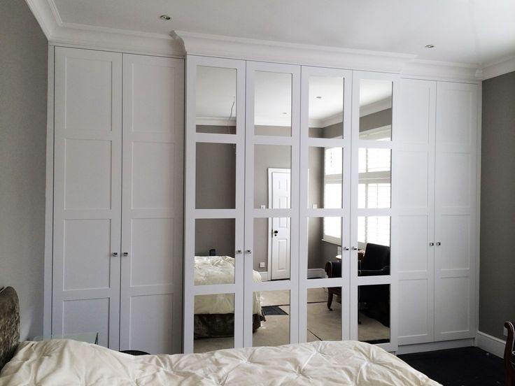 mirrored fitted wardrobes - Google Search More