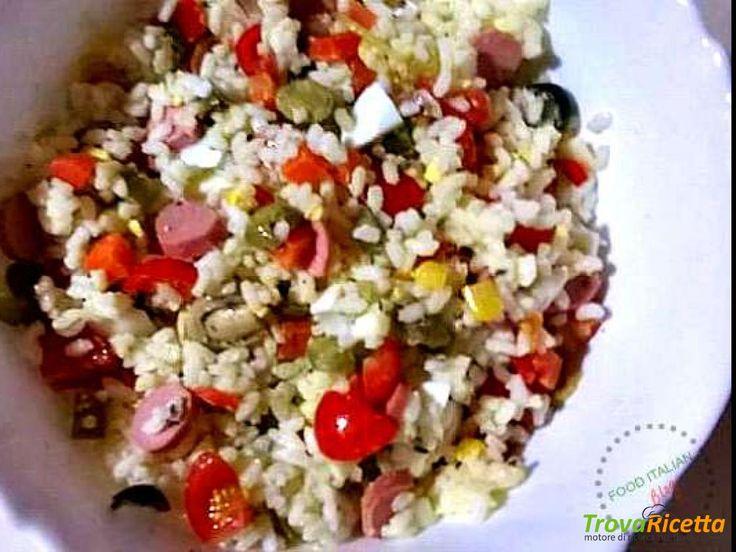 Insalata di Riso Classica  #ricette #food #recipes