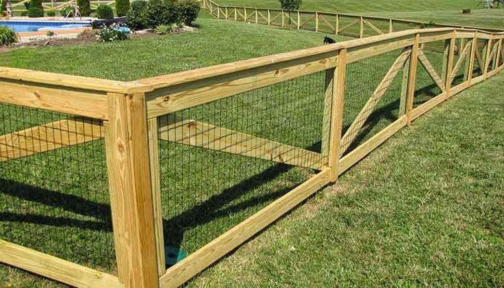 cheap dog fence idea 01                                                                                                                                                     More