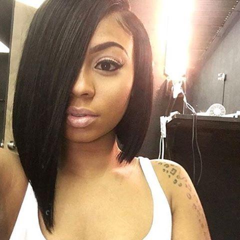 black bob hairstyles ideas