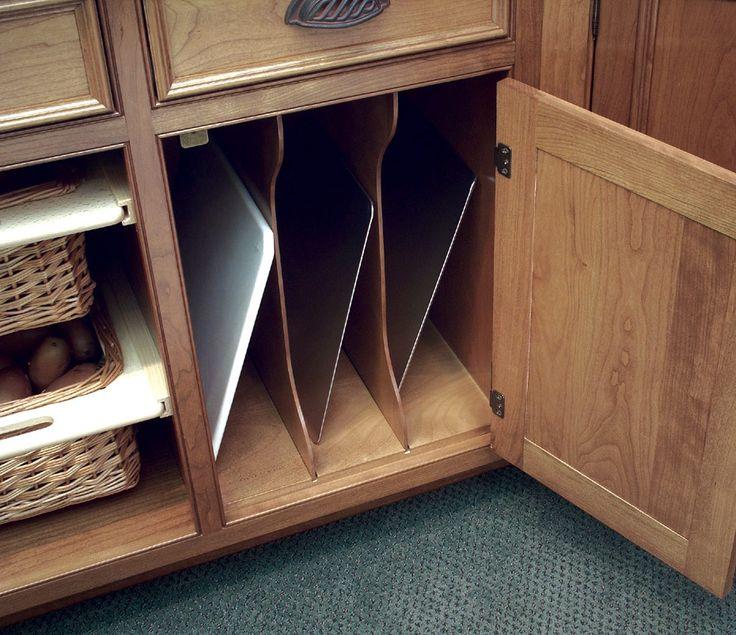 Elegant Cutting Board Cabinet Insert