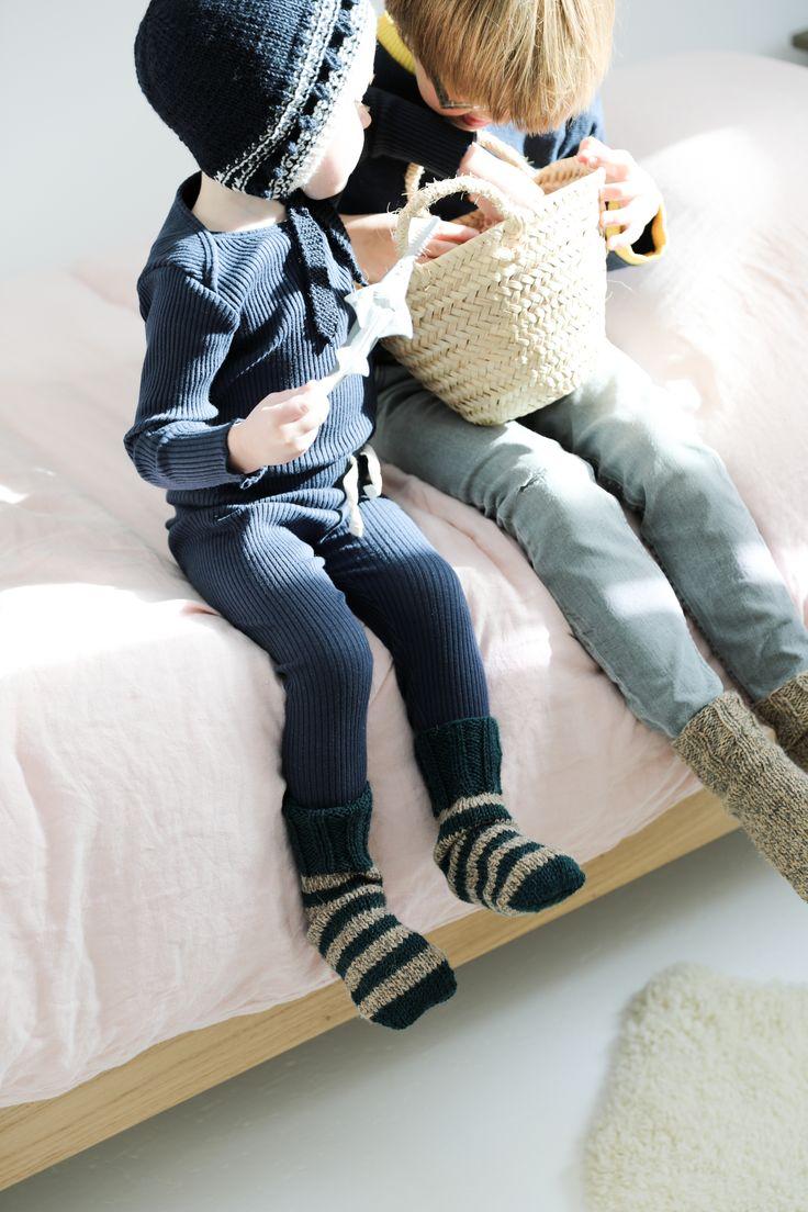 Chaudes chaussettes Création taowithgranny©