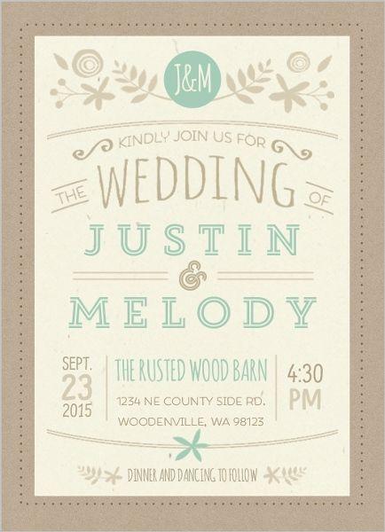 best 25+ casual wedding invitations ideas on pinterest, Wedding invitations