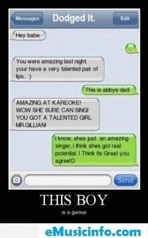 Funny Boyfriend Texts