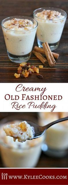 Creamy, old fashioned rice pudding - scented with vanilla, dotted with golden raisins, a little butter and a dash of nostalgia. This dessert is super easy to make, and so satisfying!