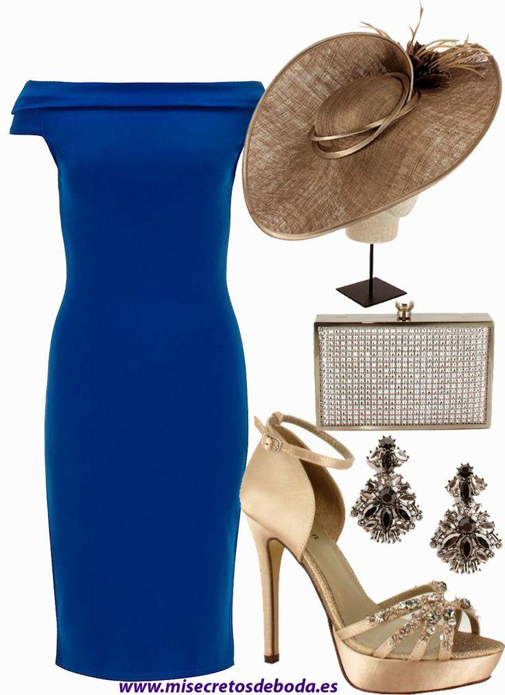 Moda Azul Royal Vestido De 28 Images Vestido Renda