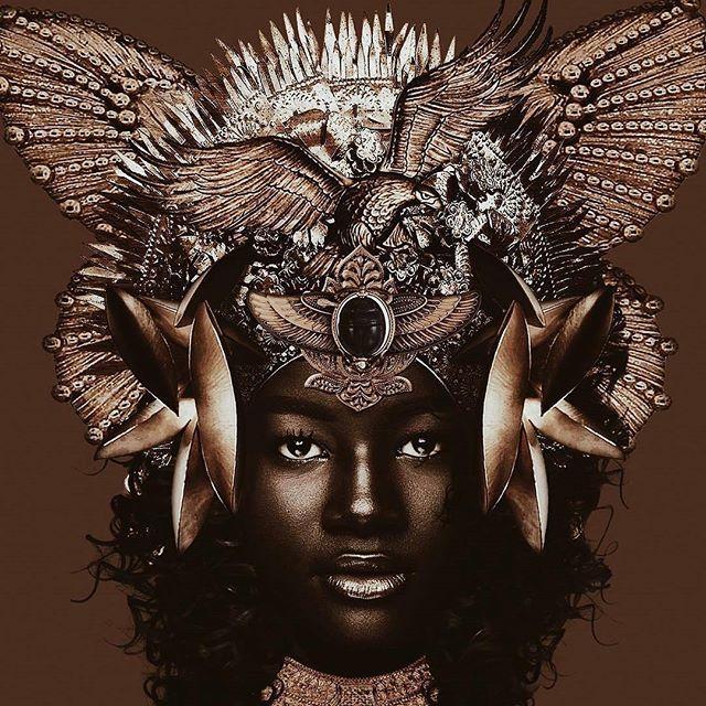 Fashion fan blog from industry supermodels: Khoudia Diop - Jeff Manning #Melaningoddess #Khoudiadiop #Senegalese