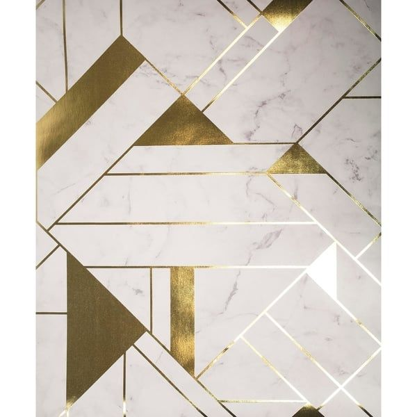 Overstock Com Online Shopping Bedding Furniture Electronics Jewelry Clothing More In 2021 Geometric Wallpaper Gold Geometric Pattern Geometric Pattern Wallpaper