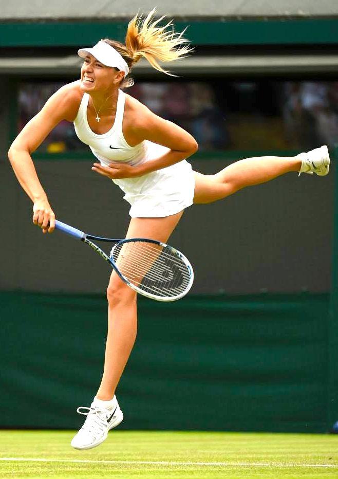 Maria Sharapova at Wimbledon 2015