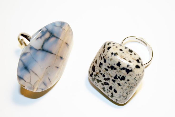 I Spy DIY: [stone ring]