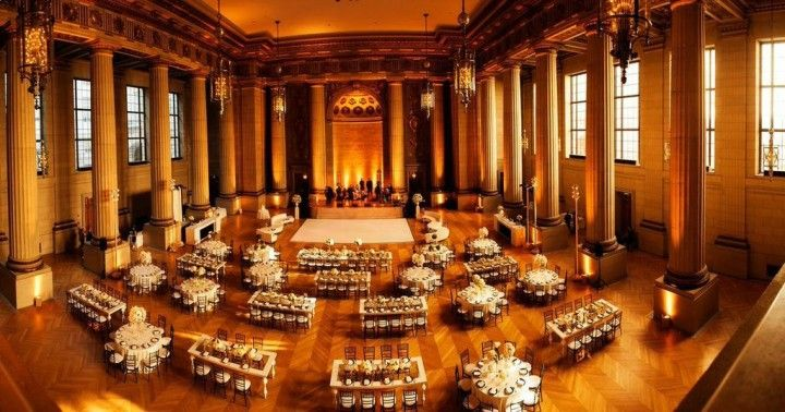 Modern Washington, DC Wedding from Atrendy Wedding at Andrew Mellon Auditorium - MODwedding