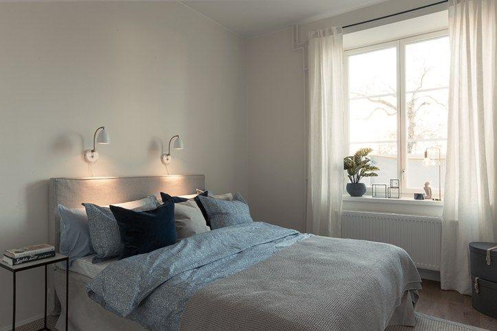 Sovrum i Bonums Brf Borggården i Beckomberga, Bromma