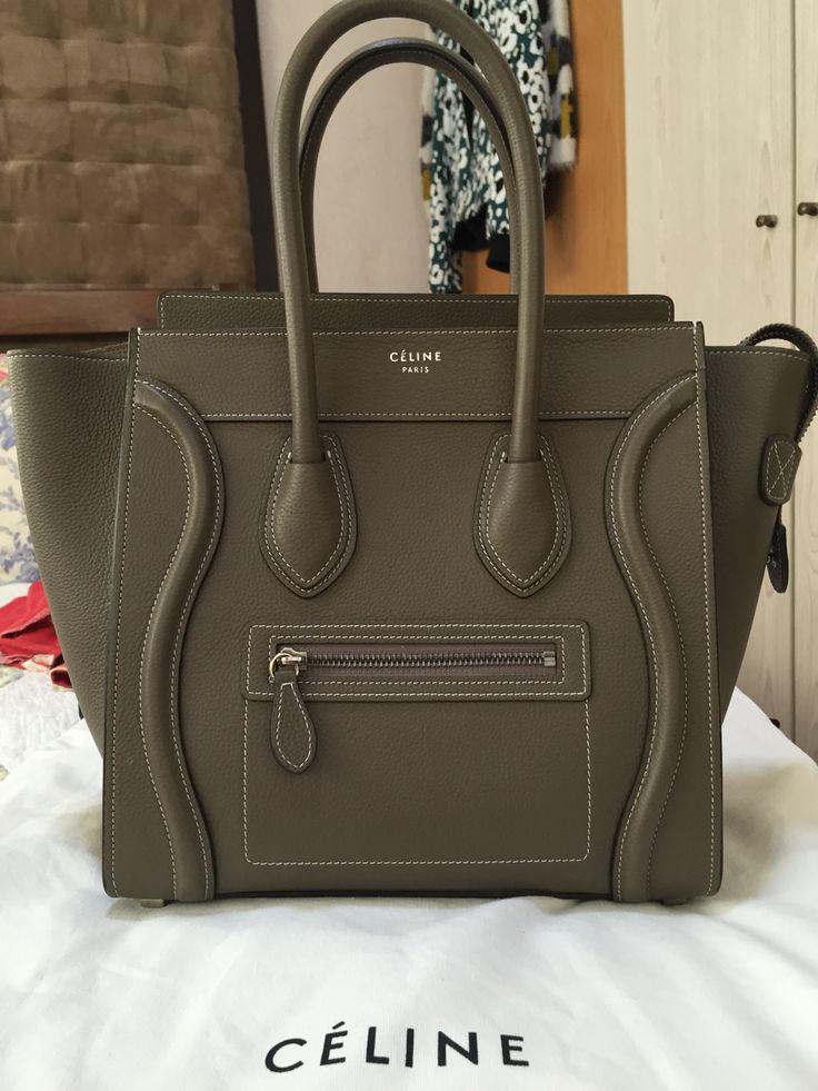 celine bag authentic - My new baby Celine micro luggage tote | C��line | Pinterest | New ...