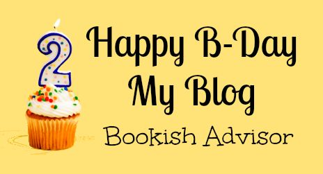 Bookish Advisor: Happy B-Day My Blog: 2° Comply Blog Bookish Adviso...