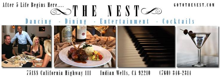 The Nest Palm Desert Fun Piano Bar Travel To Do