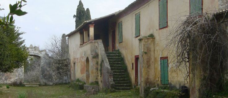 Giallinas Mansion - Historic mansion for sale Corfu