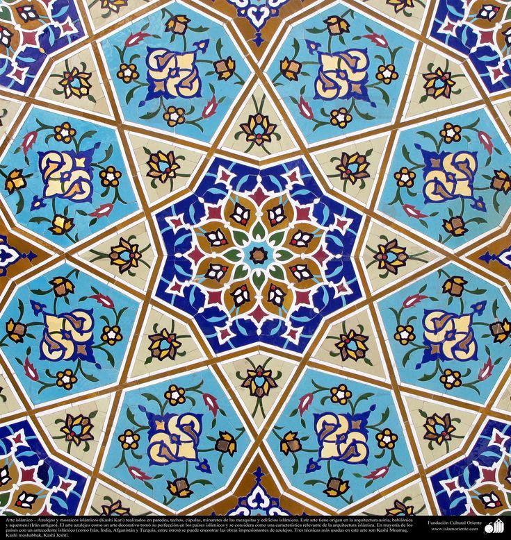 Arte islámico Kashi Kari