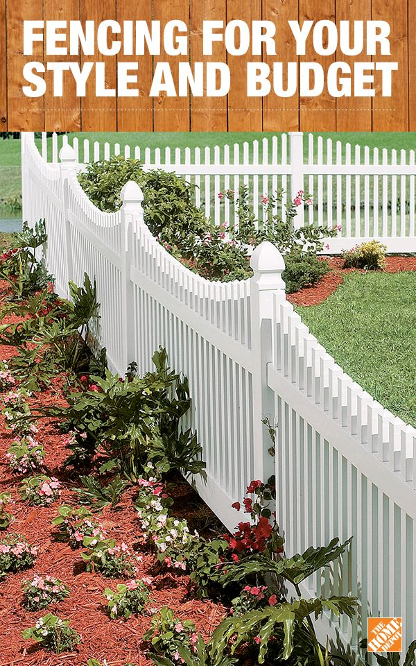 Get fencing supplies from The Home Depot to fit the needs of your home. Whether you're looking for fencing to contain a pet or for privacy, you can DIY with our many different styles from trusted brands like Veranda and Simtek. Click to get inspired and shop our fencing.