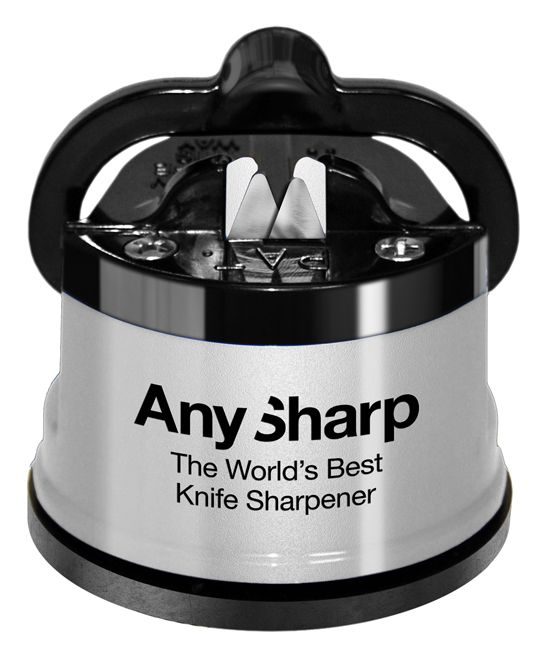 Silver Global Knife Sharpener