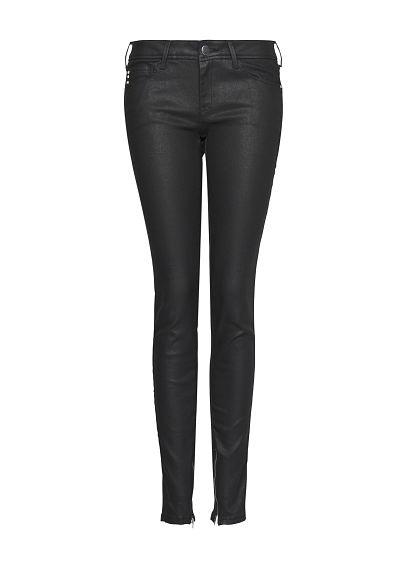 MANGO - Super slim coated jeans