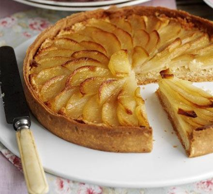 Pear tart _ Great British Menu finalist, chef Tom Kerridge, shares his recipe for a perfect pud for entertaining.