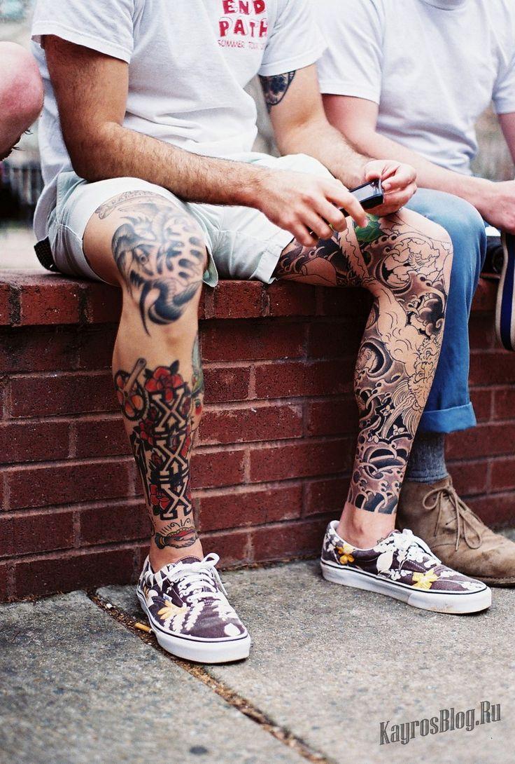 Проблема выбора места для татуировок на мужском теле