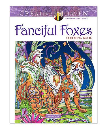 Love This Fanciful Foxes Coloring Book On Zulily Zulilyfinds