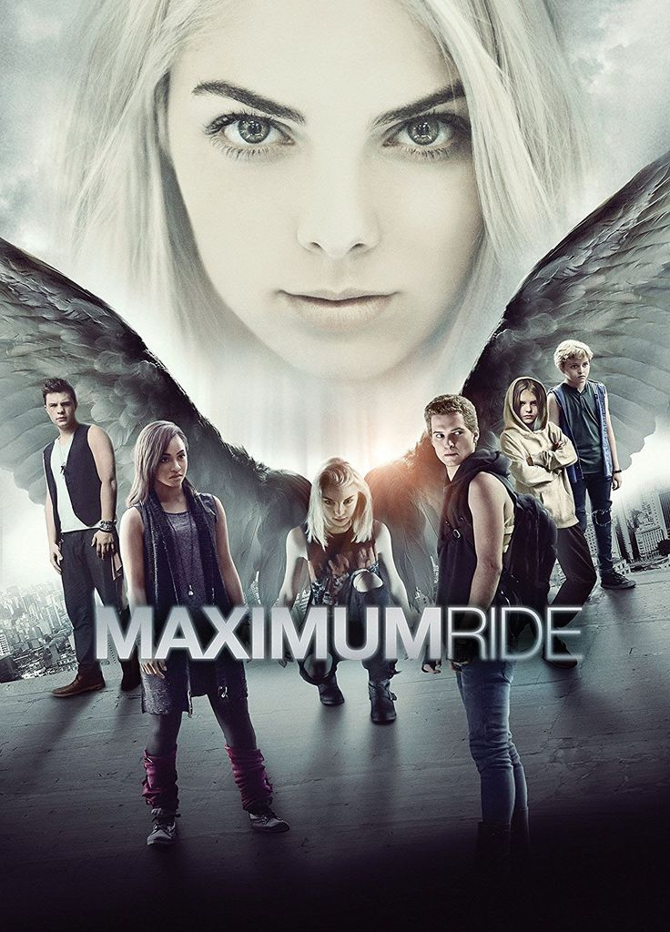 In this film adaptation of the series of young-adult fantasy novels by James Patterson, winged teens Max (Allie Marie Evans), Fang (Patrick Johnson), Iggy (Zayne Emory), Nudge (Tetona Jackson), Gazzy