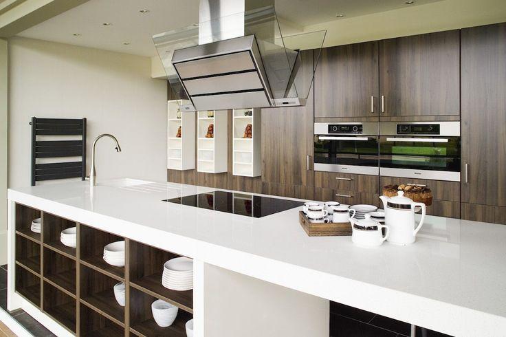 15 best diresco kitchens images on pinterest - Witte quartz werkblad ...