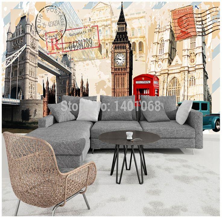 Высокое качество современная роскошь фотообои 3D обои 3D обои для стен фото обои 3д лондонский мост