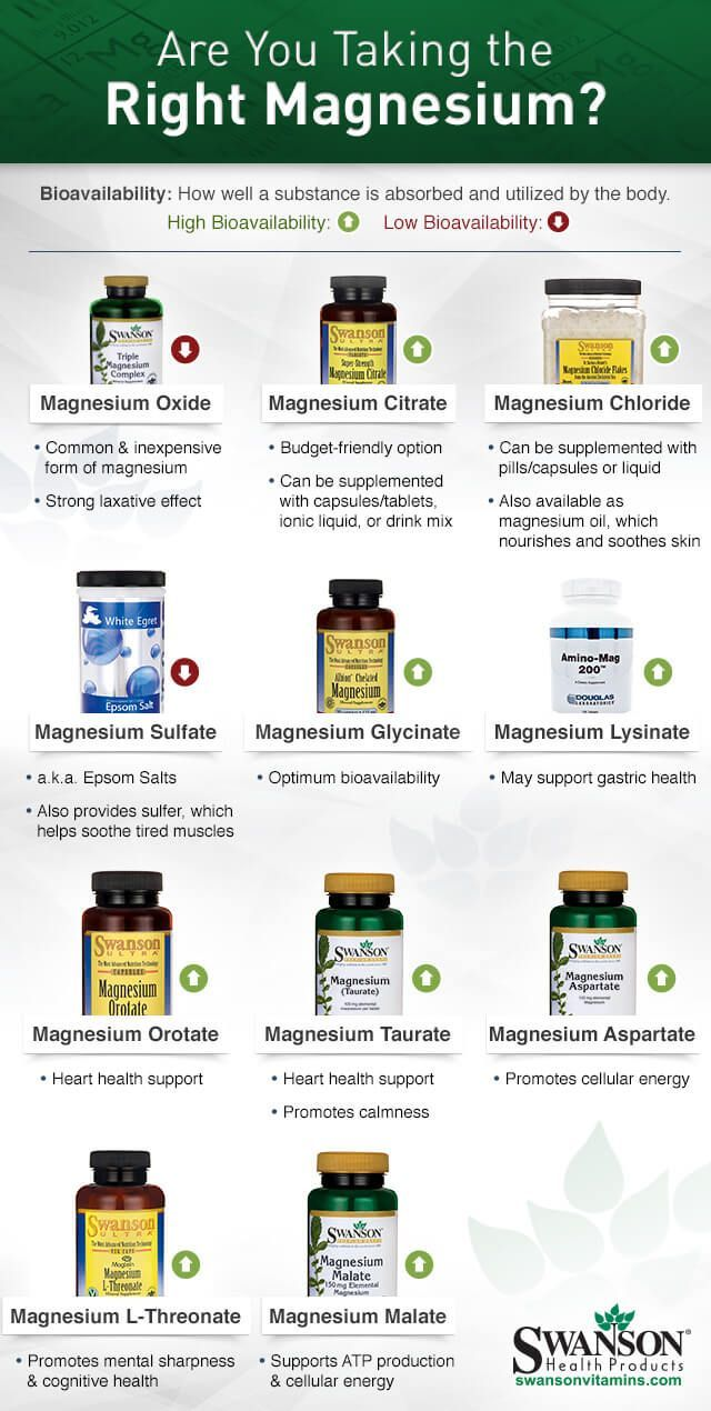 Are You Taking The Right Magnesium Form For Your Migraines? @swansonsvitamins Mi…