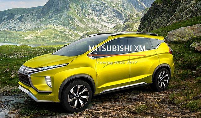 Mitsubishi Xm Concept 2017 Coming soon
