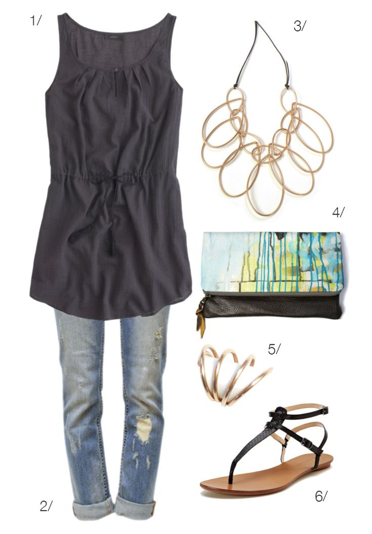 casual date night: how to wear a dress over jeans via megan auman // click for outfit details