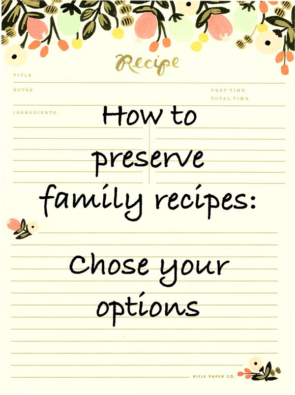 When creating a family cookbook project there are numerous options for printing and duplication. Get it together and chose the option(s) that work best for you. Let's eat. #flip-pal, #familyhistory, #memoir