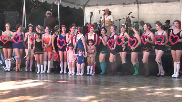 Decobelles at the Gatsby Summer Afternoon 2013  --  Rollcall and BABYBELLES --Keep Your Sunny Side Up--