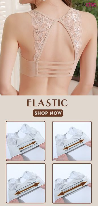 Wireless Lace Soft T-Shirt Breathable Cozy Stretchy Push Up Bras  bras   wireless 8dd17fb98